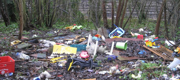 Passenham Fly Tipping Cleanup